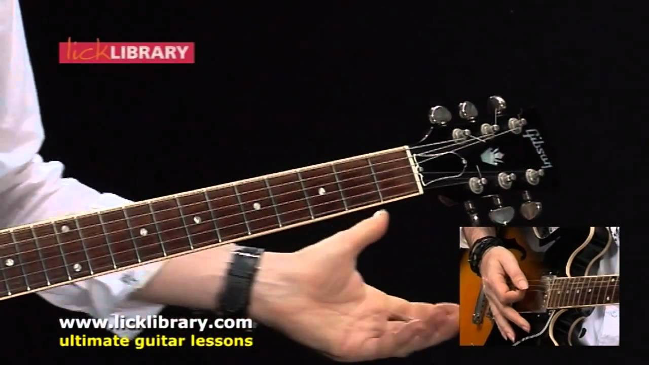 Santana instructional dvd lick library understand this