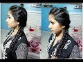 Easy hairstyle simple hairstyles everyday hair style new hair style Side puff how to quickly