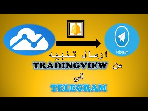 How To Send An Alert From TradingView To Telegram    ارسال تنبيه من تريدنغ فيو الى التلغرام مجانا