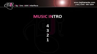 Pehli wari aj ohna akhiyan ne - Remix - Video Karaoke - Amir Ghulam Ali - by Baji Karaoke