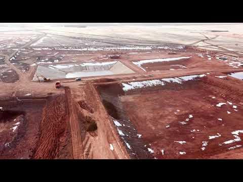 ЭкоНива - строительство фермы 31.10.18