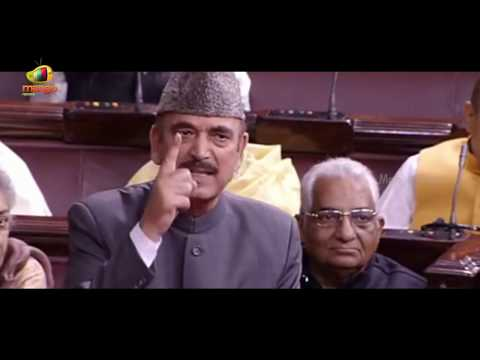 Ghulam Nabi Azad Compares Demonetisation To Uri Terror Attack | Rajya Sabha | Mango News