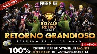 -🔴 Nuevo Luck Royale Clásico - FREE FIRE - Podras conseguir los antiguos Luck Royale de Diamantes!!