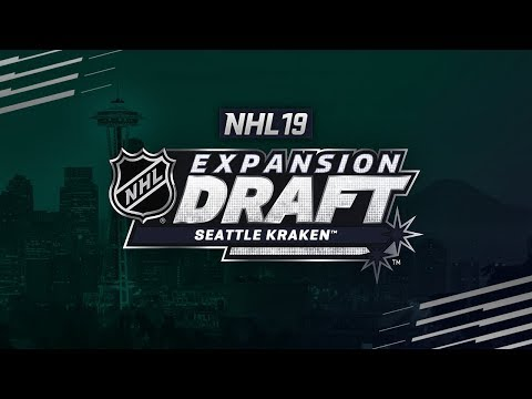 NHL 19 - SEATTLE EXPANSION DRAFT AND TEAM CREATION