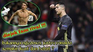 Lihat diejek fans rival, Cristiano Ronaldo akan lebih kuat dan hebat ?