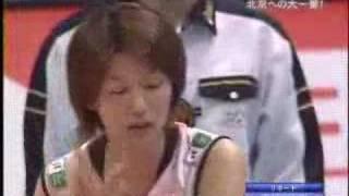 2007ワールドカップ バレーボール女子 日本3-2ポーランド (19-25,25-...