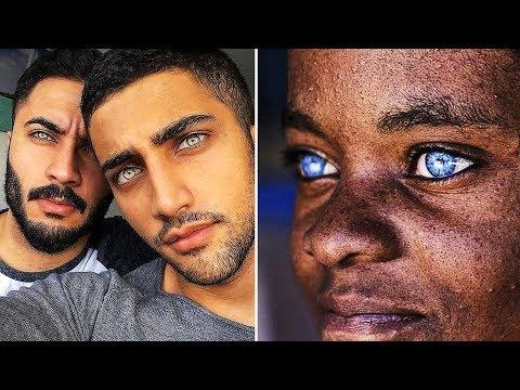 11 самых РЕДКИХ ЦВЕТОВ глаз у людей