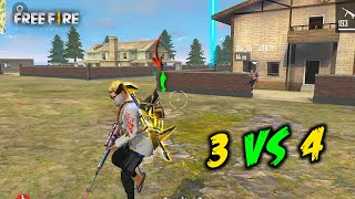 Three vs Squad OverPower Game with Jontybhai and Blacky - Garena Free Fire