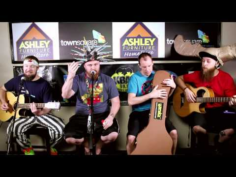 Psychostick Performs in the Ashley Furniture Homestore Hangout Lounge in Midland