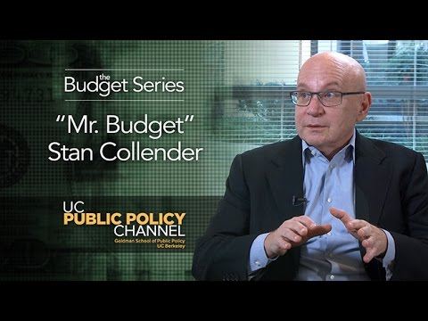 """""""Mr. Budget"""" Stan Collender -- The Budget Series Presented by The Goldman School of Public Policy"""
