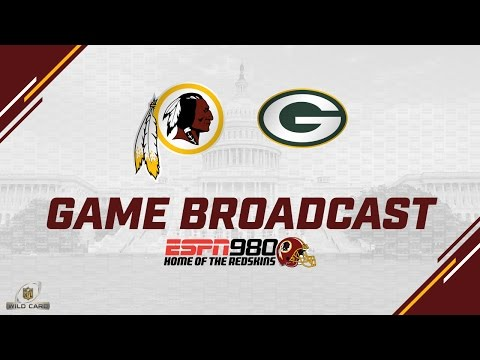 Redskins Radio Booth LIVE vs Packers