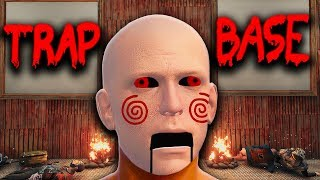 Jigsaw Makes Trap Base Victims Play a GAME | Rust
