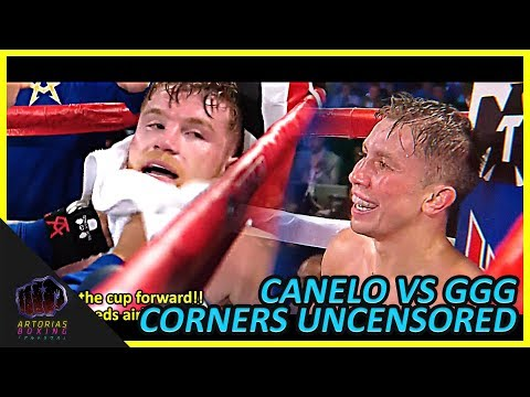Canelo and Golovkin Uncensored Corners (RAW Audio English Subs) #CaneloGGG2
