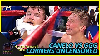 Canelo and Golovkin Uncensored Corners (RAW Audio English Subs) #CaneloGGG2