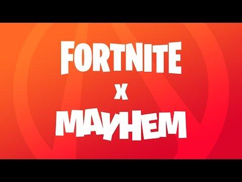Fortnite X Mayhem - Announce Trailer
