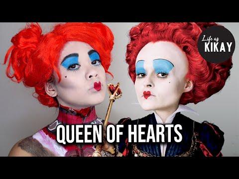 Red Queen Of Hearts Makeup Tutorial Alice In Wonderland. Access You