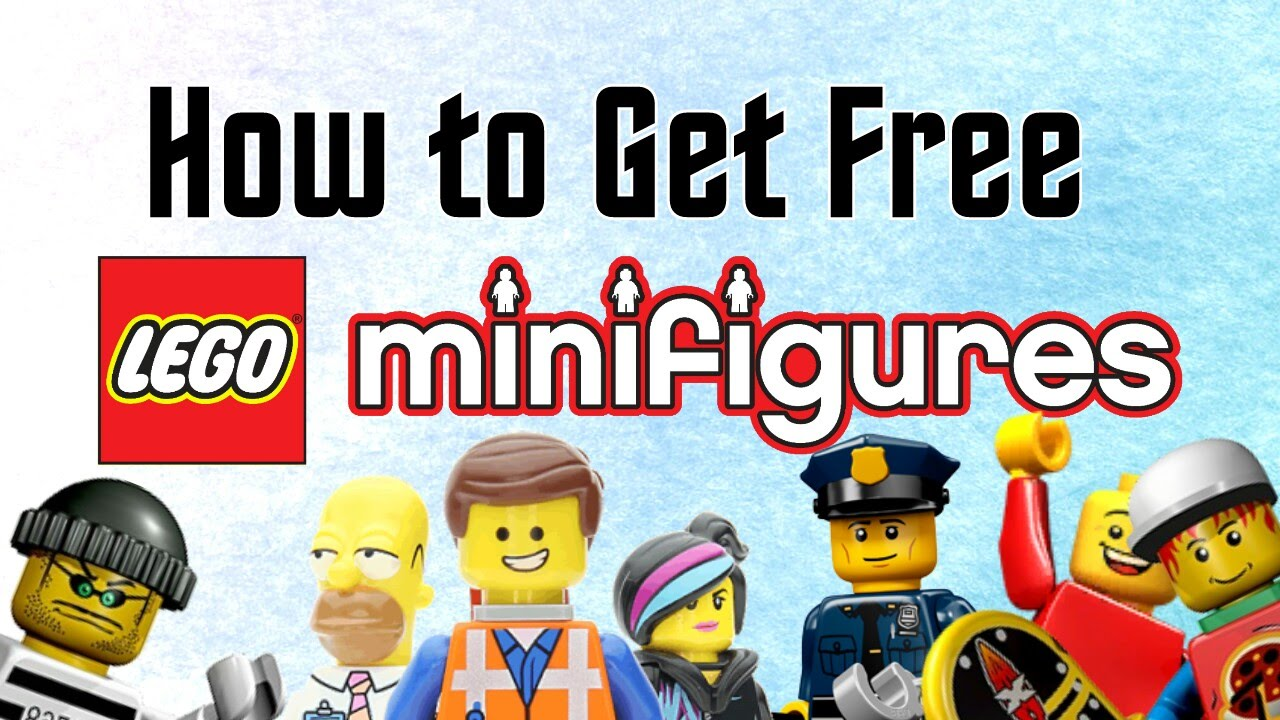 How to get FREE LEGO MINIFIGURES! - 100% FREE - Life hacks - Easy method!
