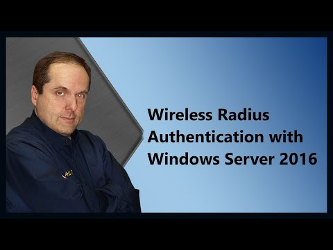 Wireless Radius Authentication with Windows Server 2016