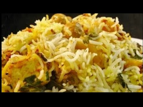 Vegetable Biryani - Easy Recipe