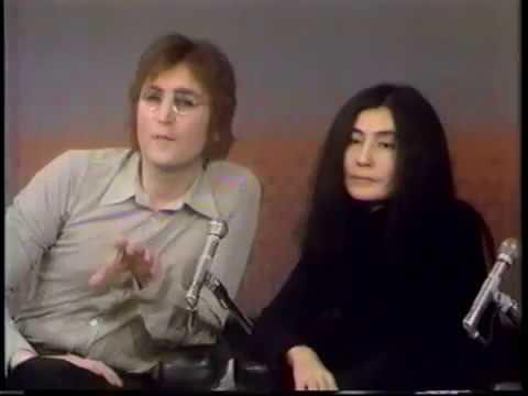 John Lennon  Yoko Ono on The Mike Douglas show   Day 5   Feb  18, 1972   YouTube