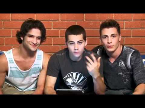 "Highlights from the Live Chat with the Guys of ""Teen Wolf"" - Cambio"