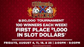 Ultimate X Video Poker - August 2017