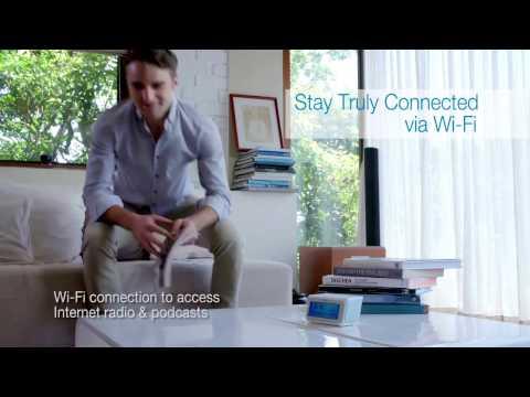 Oregon Scientific Smart Connected Clock with Internet Radio CIR100 Product Video (English)