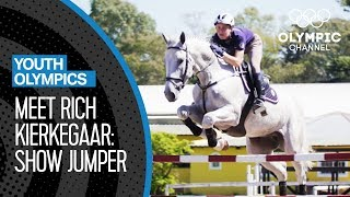 Meet show jumper, Richard Kierkegaard | Youth Olympic Games