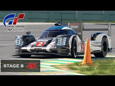 Gran Turismo Sport Onboard 4K - Endurance - Porsche 919 Hybrid [Mission Challenge] Stage 8-7