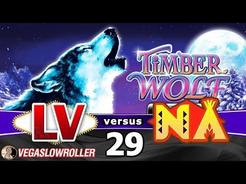 Las Vegas vs Native American Casinos Episode 29: Timberwolf Deluxe Slot Machine - 동영상