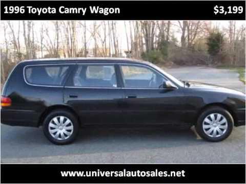 1996 toyota camry wagon used cars spotsylvania va youtube. Black Bedroom Furniture Sets. Home Design Ideas