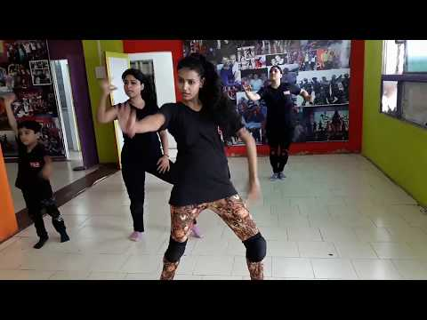 Dance Practice on Shivay Movie Song
