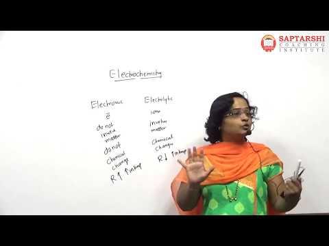 Electrochemistry Lect 1 Std 12 HSC Board Maharashtra,JEE,NEET,CET