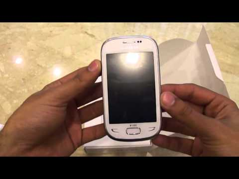 Samsung Rex 90 S5292 Unboxing