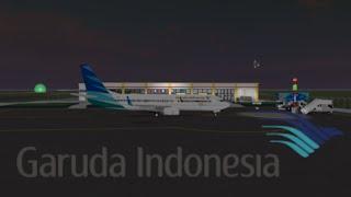 [Roblox] Garuda Indonesia Boeing 737-800 Kurzflug