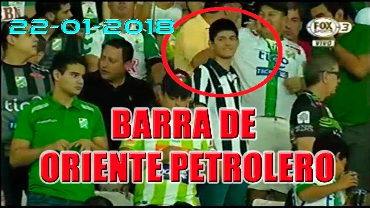 Hincha De Alianza Lima Fue Captado En Barra De Oriente Petrolero Youtube