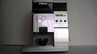 Пошаговое приготовление кофе на кофемашине Saeco Royal Office(, 2015-02-19T08:33:56.000Z)
