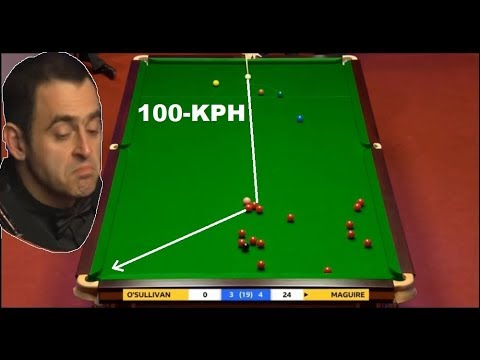 WSC 2018!!! 4 BOMB SHOTS MAGUIRE VS RONNIE PERRY VS SELBY