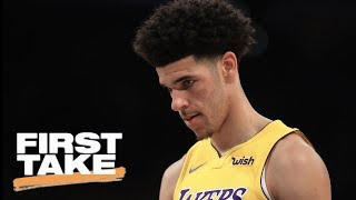 Stephen A. Smith says Lonzo Ball is not worth the hype First Take ESPN