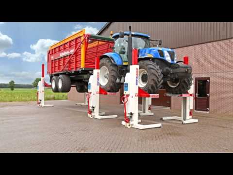 Agricultural Vehicle Lifting