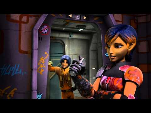 Sabine - Star Wars Rebels - Disney XD Official