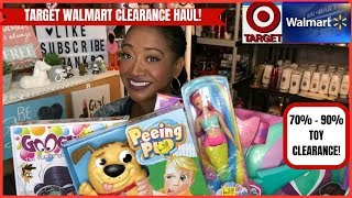 Walmart Target 70-90% Toy Clearance Haul~amazing Finds Time To Stock Up Wow 😮