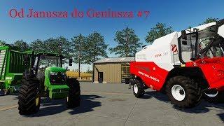 Farming Simulator 19 Od Janusza do Geniusza #7 Żniwa nowa/ Nowa gospodarka/ 40k w 20  minut