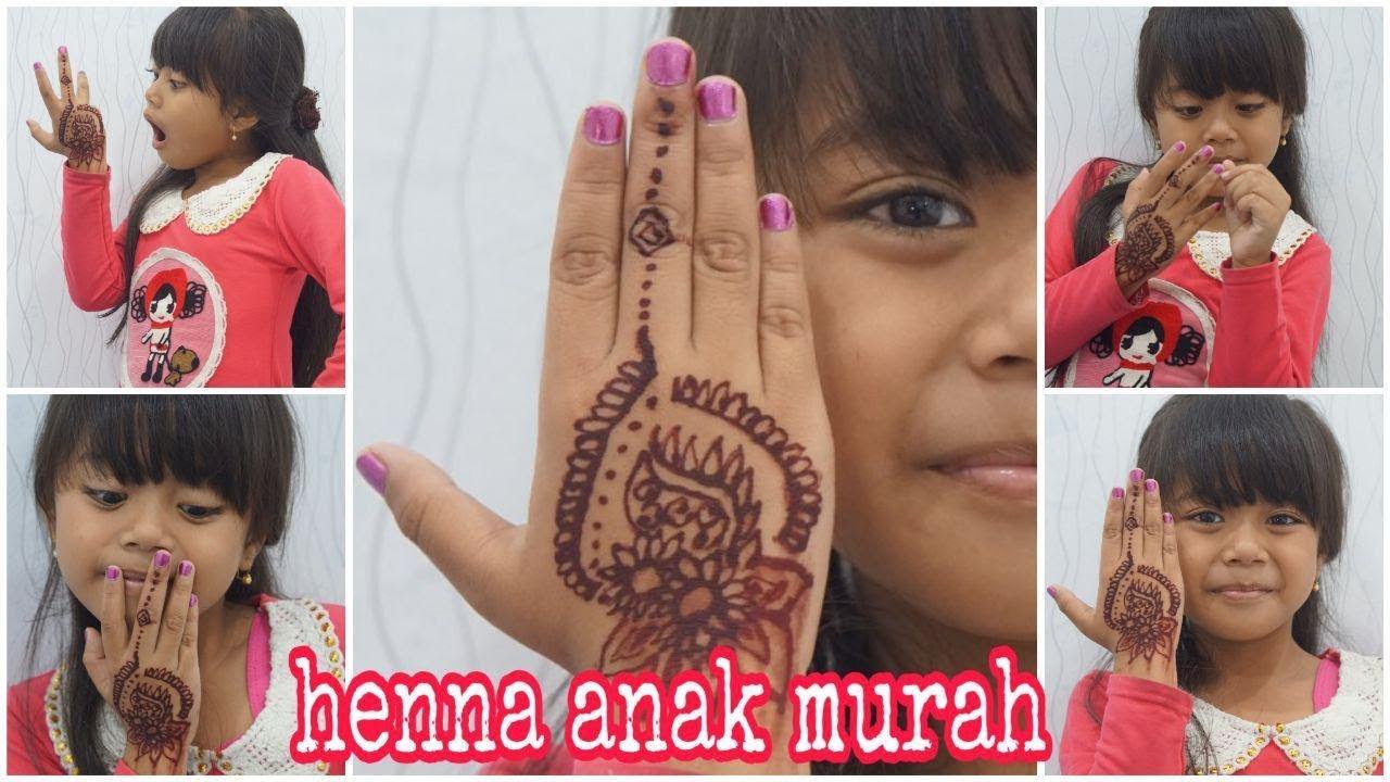 gambar henna anak - rajiman