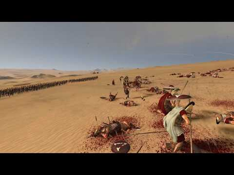Rome Total war 2 1800 Archers vs Royal Spartans General