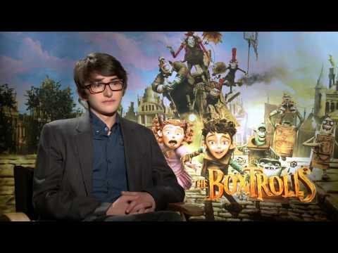 The Boxtrolls: Isaac Hempstead-Wright Official Movie Interview