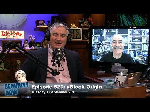 Security Now 523: uBlock Origin