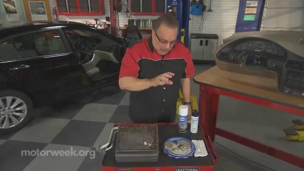Goss garage smelly air conditioning youtube