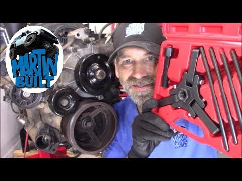 How to Remove & Replace Harmonic Balancer Dodge, Jeep, Chrysler and Mitsubishi 3.7 & 4.7