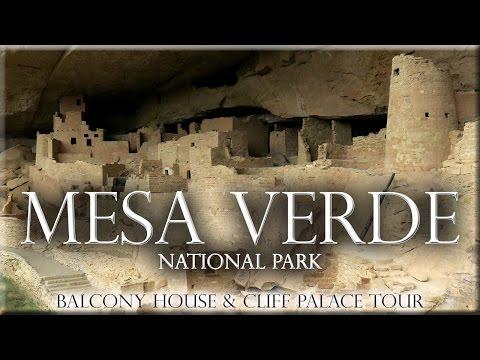 Mesa Verde National Park. Balcony House & Cliff Palace